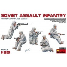 SOVIET ASSAULT INFANTRY (WINTER CAMOUFLAGE CLOAKS) CAMOUFLAGE CLOAKS)