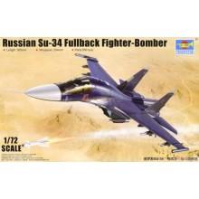 1:72 Russian Su-34 Fullback Fighter-Bomber