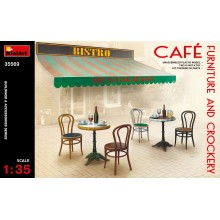 1:35 CAFé FURNITURE & CROCKERY