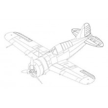 Buffalo F2A-1/2/3 - control surfaces seT 1:48
