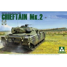 1:35 British main Battle Tank Chieftain Mk.2