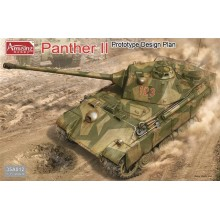German Panther II Prototype Design 1:35