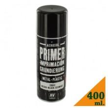 VALLEJO BLACK PRIMER SPRAY 400 ml