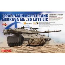 1:35 ISRAEL MAIN BATTLE TANK MERKAVA Mk.3D LATE LIC