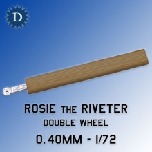 1:72 Rosie the Riveter Double Riveting tool 0.40mm