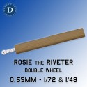 1:72 & 1:48 Rosie the Riveter Double Riveting tool 0.55mm
