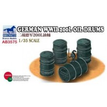 1:35 German WWII 200L Oil Drums