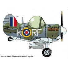 TIGER MODEL: Cute Supermarine Spitfire Fighterr