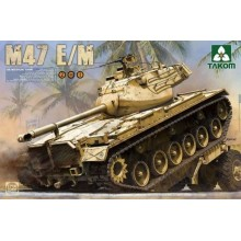 1:35 US Medium Tank M47 E/M 2 in 1