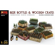 1:35 Beer Bottles & Wooden Crates