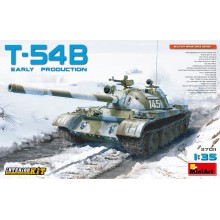 1:35 T-54B SOVIET MEDIUM TANK. EARLY PRODUCTION