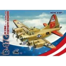 B-17G FLYING FORTRESS BOMBER, MENG KIDS