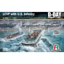 LCVP with U.S. Infantry