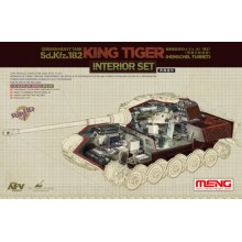 Meng Model 1/35 King Tiger Sd.Kfz.182 (INTERIOR SET)