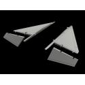 AJ-37/ SF-37 / SH37 Viggen canard correction set 1:48