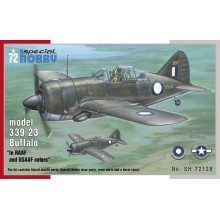 Buffalo model 339-23 in RAAF and USAAF colors