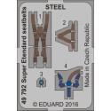 Super Etendard seatbelts STEEL 1/48