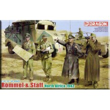 Rommel & Staff. North Africa 1942 1:35