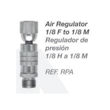 Regulador de presión para Aerógrafo 1/8 H a 1/8 M