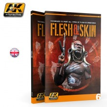FLESH & SKIN (AK LEARNING SERIES Nº6 English Ed.