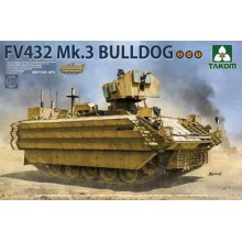1:35 British APC FV432 Mk.3 Bulldog 2 in 1