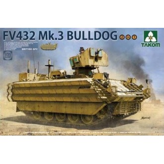 1:35 British APC FV432 Mk.3 Bulldog 2 in 1