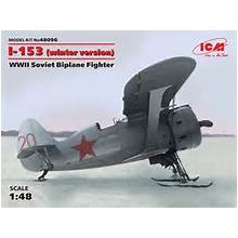 "I-153 ""Chaika"", WWII Soviet Biplane Fighter NEW MOLD"