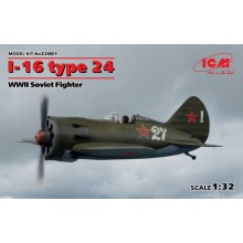 1:32 I-16 TYPE 24 WWII SOVIET FIGHTER