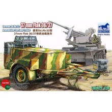 1:35 German Sd.Ah.52 37mm Flak Ammunition Carriage Trailer