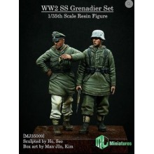 1/35 WW2 SS Grenadier SET 2 fig.