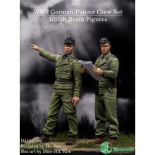 1/35 WW2 German Panzer Crew Set 2 Fig.