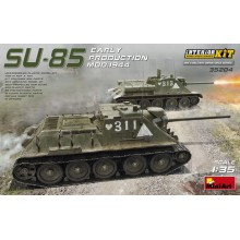 1:35 SU-85 SOVIET SELF-PROPELLED GUN MOD.1944 EARLY PRODUCTION. INTERIOR KIT