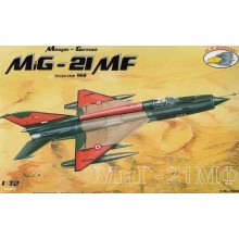 1:72 Mikoyan MiG-21MF (Czech, Slovakia, Hungary, Egypt)