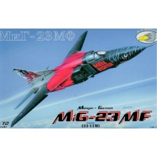 1:72 Mikoyan MiG-23MF with decals for Czech Air Force 'Hell Fighter'