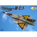 1:72 Mirage IIICJ (6x camo versions)