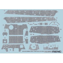 1/35 GERMAN HEAVY TANK Sd.Kfz.182 KING TIGER ZIMMERIT DECAL