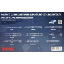 1:48 U.S. Long/Medium-range Air-to-air Missiles