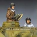 1/35 Panzer Crew Winter Set 2 figures