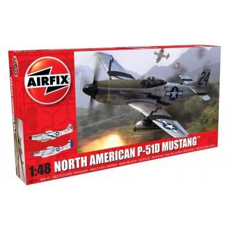 North American P51-D Mustang 1:48