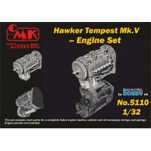 1/32 Tempest – Engine Set for Special Hobby kit