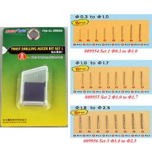 Twist Drilling Auger Bit set 1 (0,3-1,0)