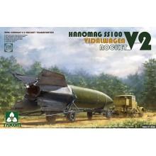 1:35 V-2 ROCKET VIDALWAGEN HANOMAG SS100