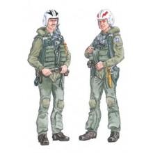 1:48 MiG-21 MF/ Bis/ SMT pilot w/ ejection seat