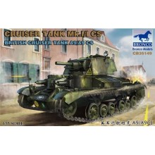 1:35 Cruiser Tank Mk.I/I CS British Cruiser Tank A9/A9CS