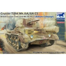 1:35 Cruiser Tank Mk.IIA/IIA CS British Cruiser Tank A10 Mk.IA/IA CS (Balkans Campaign)