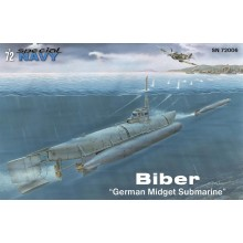 Biber 'German Midget Submarine' 1:72