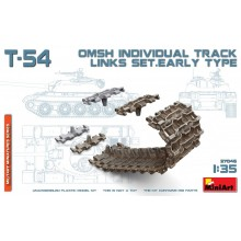 1:35 T-54 OMSH INDIVIDUAL TRACK LINKS SET.EARLY TYPE