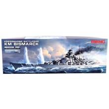 1/700 Kriegsmarine Battleship KM Bismarck