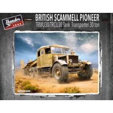 1:35 British Scammell Pioneer Tank Transporter 30 ton