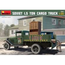 1:35 1:35 SOVIET 1,5 TON CARGO TRUCK